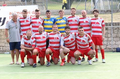 La squadra Arca Enel dell'Umbria campione nazionale di calcio a 5
