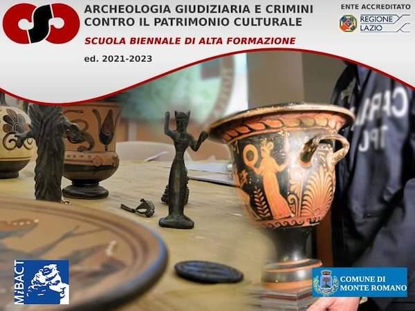 Nasce la Scuola Biennale di Alta Formazione in Archeologia Giudiziaria e Crimini contro il Patrimonio Culturale