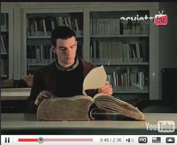 """Il video degli studenti della sezione """"Arte e comunicazione visiva"""" del Liceo d'arte per illustrare il valore dell'Archivio come luogo della memoria"""