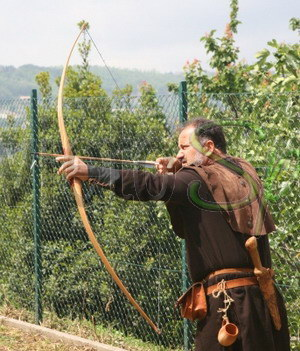 Week end con il Arcieri Orvietani. Gare e dimostrazioni in clima medievale
