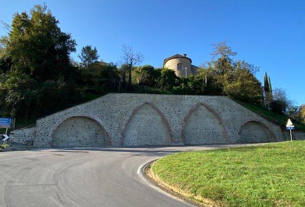 """Partito il restauro degli """"Arconi"""", manufatto dal valore storico e architettonico"""