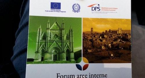 """Forum """"Aree Interne"""". """"La rete dei territori per lo sviluppo locale"""""""