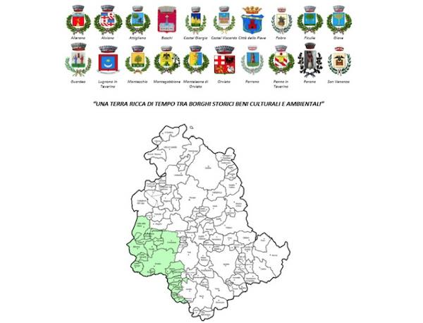 """Gestione associata della """"Funzione Catasto"""" per i 20 Comuni dell'Area Interna"""