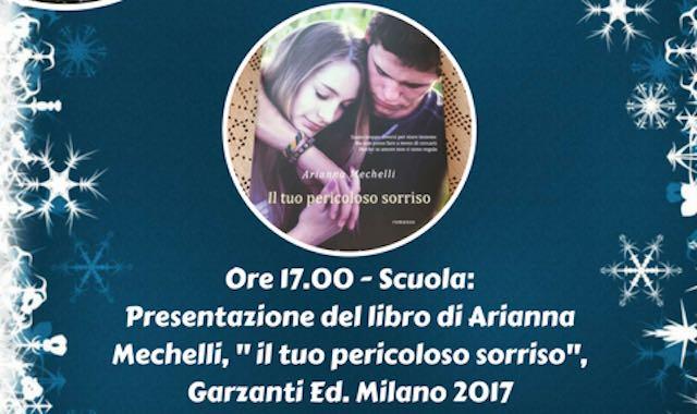 """Arianna Mechelli presenta il libro """"Il tuo pericoloso sorriso"""""""