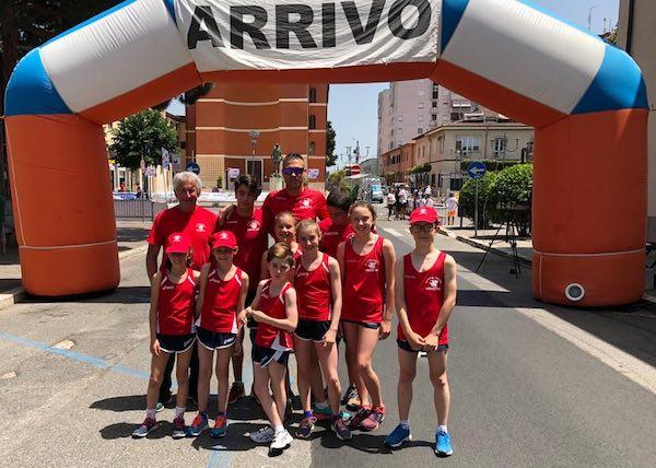 Pentathlon Moderno Orvietano corsaro alla gara di Aprilia