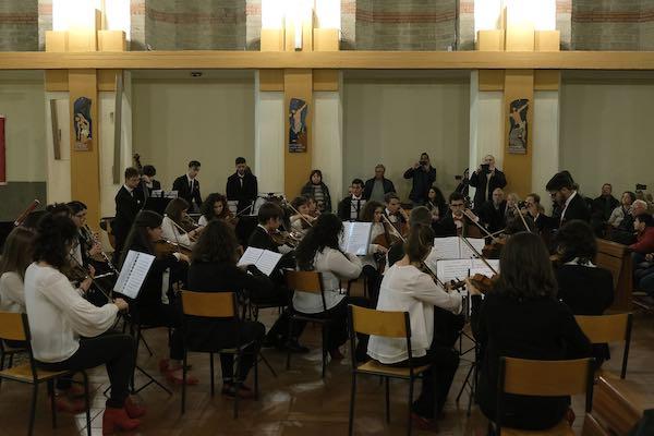 Grande successo per il concerto dell'Orchestra Gionanile Ars Nova
