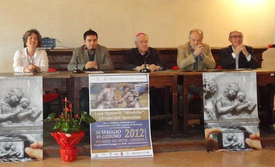 """Inaugurato il Festival d'Arte e Fede. Nell'anno di Luca Signorelli nuovi spunti per """"Mirabilia, i luoghi dell'apocalisse"""""""