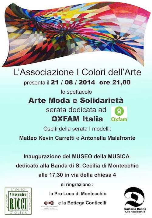 """Serata di musica, moda e solidarietà con """"I colori dell'arte"""""""
