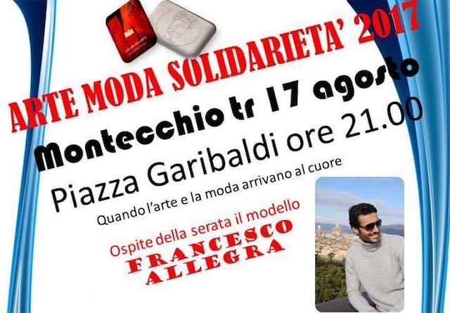 """""""Arte Moda Solidarietà 2017"""". Serata-spettacolo in Piazza Garibaldi, con il cuore a Norcia"""