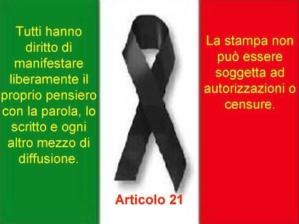 Articolo 21: si ripristini un clima di rispetto. Gnagnarini scrive al presidente del Consiglio Frizza, interviene il Partito Democratico