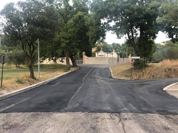 Completati i lavori di asfaltatura e illuminazione pubblica per un importo di 200.000 euro