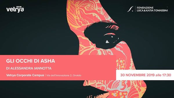 """Alessandra Iannotta presenta il libro """"Gli occhi di Asha"""""""
