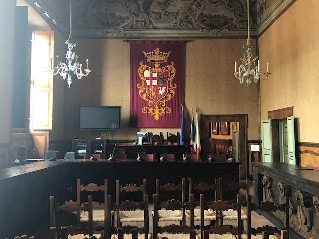 Seduta di fine luglio per il consiglio comunale. Venti punti all'ordine del giorno