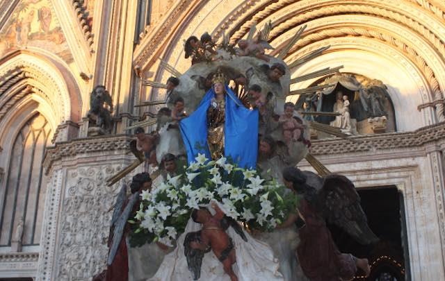 Orvieto onora la solennità di Maria Assunta in Cielo