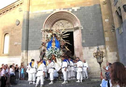 Orvieto celebra la Madonna Assunta in Cielo