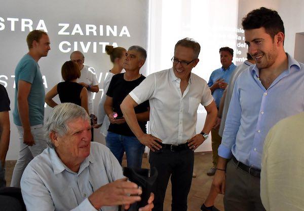 Astra Zarina torna a Civita. Mostra dedicata all'architetto internazionale