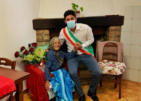 Marietta compie 108 anni, è lei la più longeva della provincia
