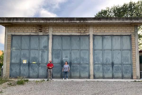 Adibito ad autoparco il capannone in zona Madonna delle Grazie