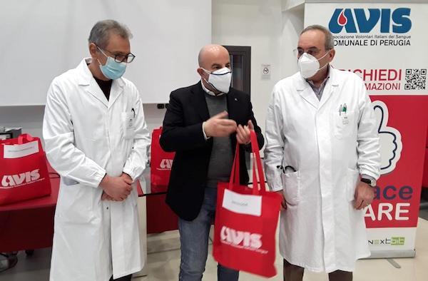 L'Avis di Perugia premia i donatori che hanno superato le cento donazioni