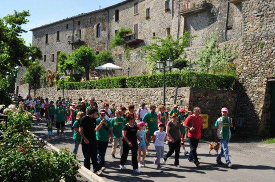"""In 200 a """"PasseggiAVIS"""", tradizionale passeggiata promossa dalla sezione AVIS di Allerona"""