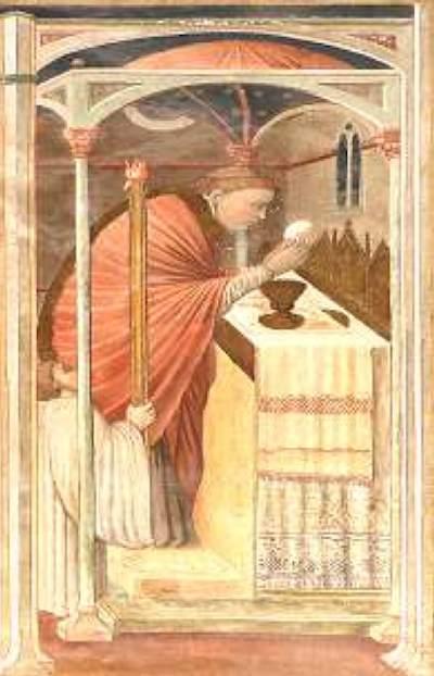"""""""L'Eucaristia, fonte e culmine della vita della Chiesa"""""""