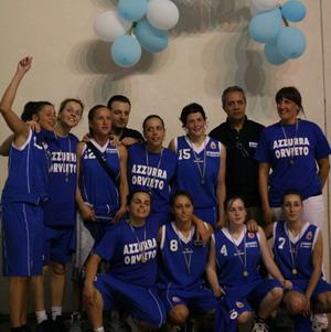 Azzurra Orvieto. Girone B per il debutto in A2