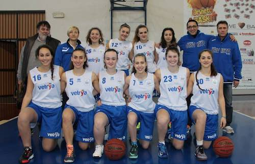 Azzurra Vetrya Orvieto U17 si prepara per la Final 3