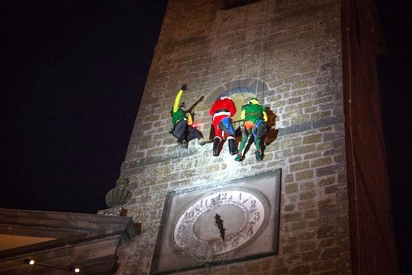 Babbo Natale e Befana Forraditesta, in arrivo tre discese acrobatiche