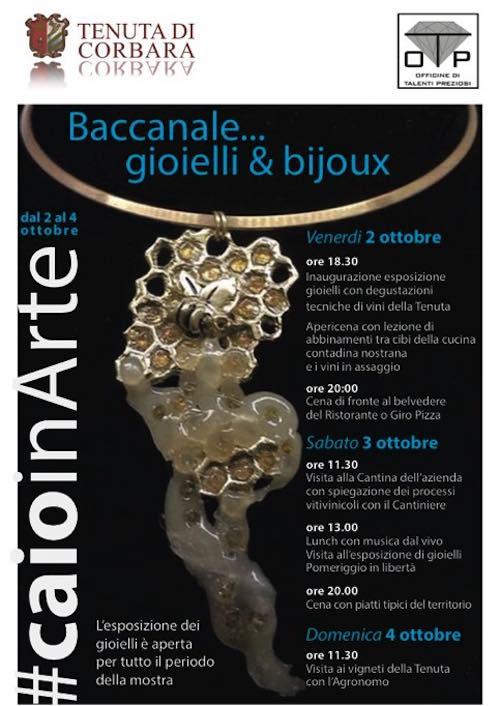 """""""Baccanale...gioielli e bijoux"""" in mostra alla Tenuta di Corbara"""