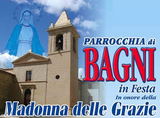 La parrocchia di Bagni in festa per la Madonna delle Grazie