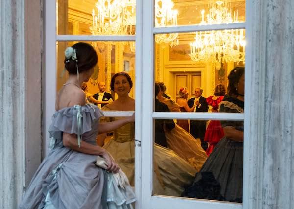"""""""Ballo di Primavera"""" a Palazzo Monaldeschi. Come nell'Ottocento"""