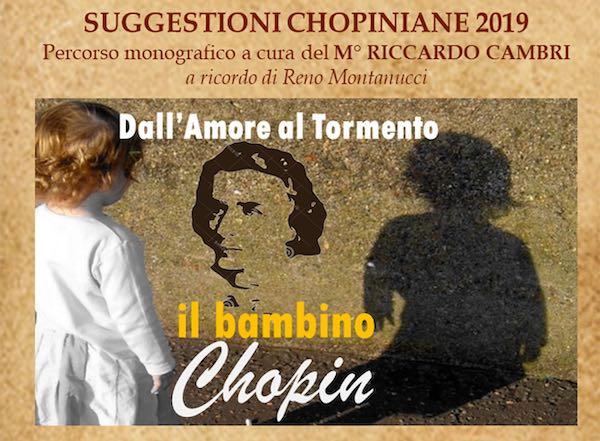 """Alberto Romizi e il suo """"Bambino Chopin"""" per le Suggestioni Unitre"""