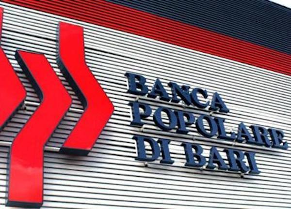 Banca Popolare di Bari, assegnazione azioni gratuite