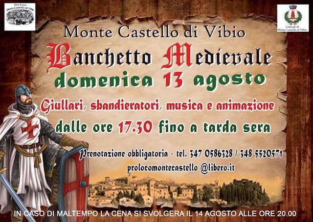 """Giochi di bandiera, danze e intrattenimento per il """"Banchetto Medievale"""""""