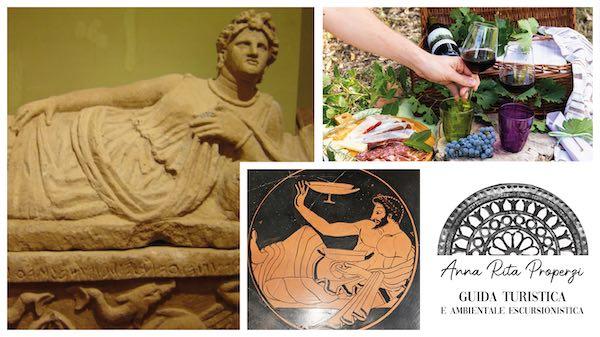 """""""Il banchetto nel mondo etrusco"""" e, a seguire, """"Merenda in Vigna"""""""