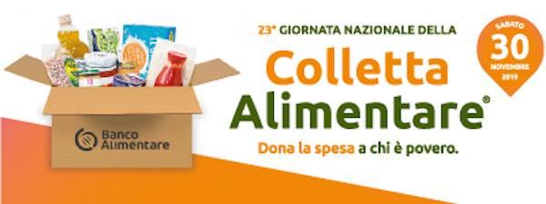 """Edizione 23 per la """"Giornata Nazionale della Colletta Alimentare"""""""