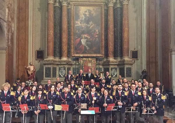 """In scena il 22esimo Concerto di Natale della Banda """"Alceo Cantiani"""""""