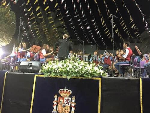 La Banda musicale protagonista in Spagna