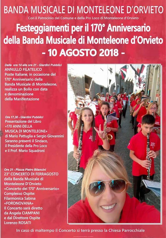 Iniziano i festeggiamenti per il 170esimo anniversario della Banda Musicale