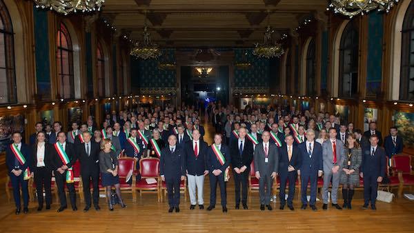 Umbria tra le Bandiere Arancioni TCI che incontrano il Principe Alberto di Monaco