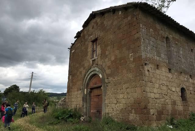 Con Italia Nostra, nei luoghi etruschi e templari tra Bardano e Rocca Ripesena
