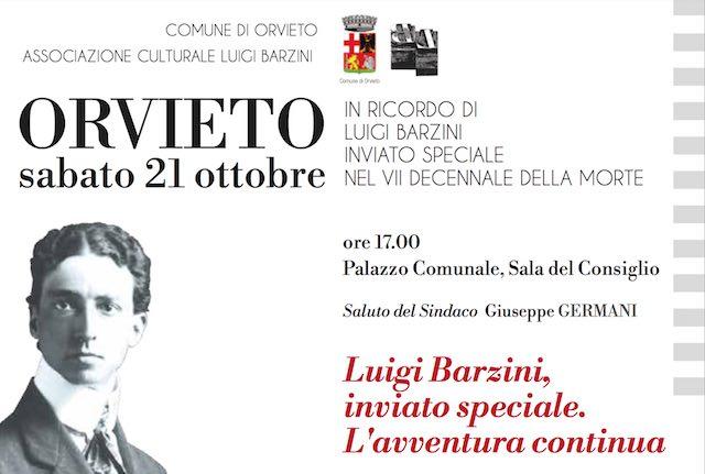 """""""Luigi Barzini, inviato speciale. L'avventura continua"""" nel VII decennale della morte"""