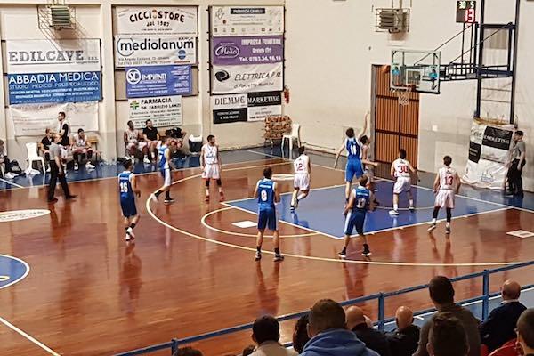 Orvieto Basket batte Jesi 64 a 47 ed entra matematicamente nei playoff