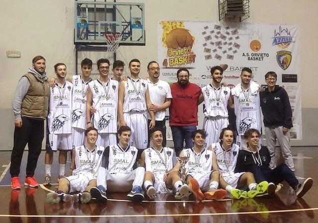 Grande domenica di festa per l'Orvieto Basket