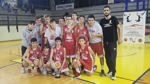 L'Orvieto Basket Under 15 chiude al secondo posto una stagione entusiasmante