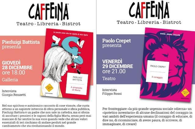 Doppio appuntamento a Caffeina Incontri, arrivano Pierluigi Battista e Paolo Crepet