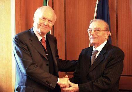 Il Prefetto Gianfelice Bellesini in visita al Comune di Porano