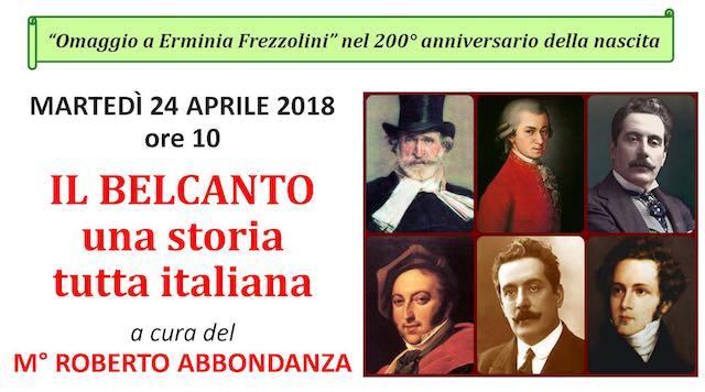 Un martedì da primato all'Unitre, con Roberto Abbondanza e Guido Barlozzetti