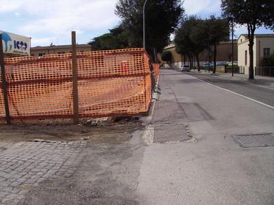 Incrocio pericoloso tra Via Belisario e Via Roma, la denuncia inascoltata di un cittadino