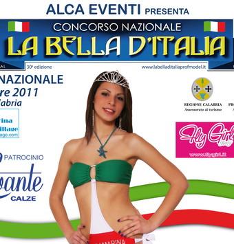 """Venerdi 19 agosto a Porano finale regionale de """"La Bella d'Italia"""". In Piazza Garibaldi miss in passerella"""